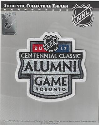 2017 Centennial Classic Alumni Jersey Patch Red Wings Maple Leafs 100% Official