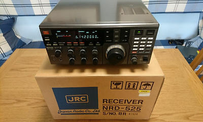Boxed Jrc Nrd-525G All Mode Hf/vhf/uhf Communications Receiver +Optional Boards