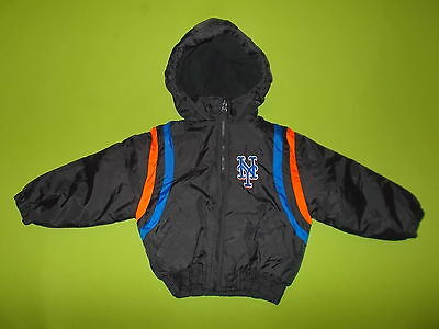 Jacket NEW YORK METS (Youth XS) (4/5 Years) GENUINE STUFF Only ONE PERFECT MLB