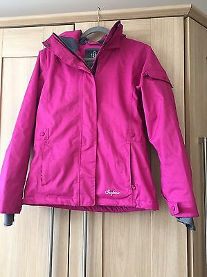 Ladies Surfanic Cerise Ski Jacket Size Small