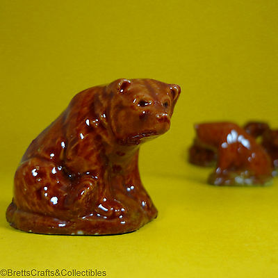 Wade Whimsies Whoppas (1976/81) Set #1 (1976) - #3 Brown Bear