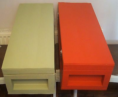 2 Wooden Storage / Keepsake Boxes With Lid's