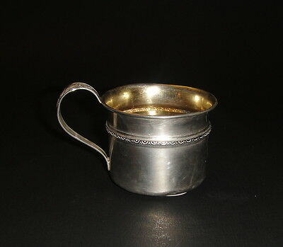 Antique Sterling Silver Baby's Cup