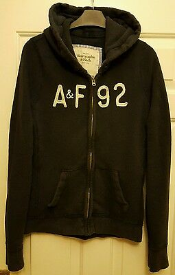 ABERCROMBIE & FITCH. Ladies Zip Up Hoodie. Size L.