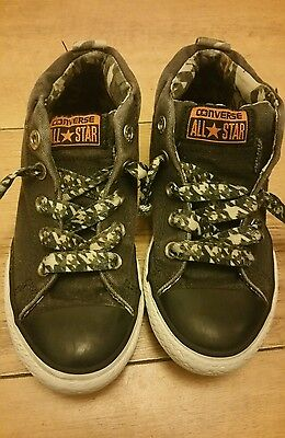 CONVERSE ALLSTAR. Boys Mid Top Trainers. Size uk 13.5.