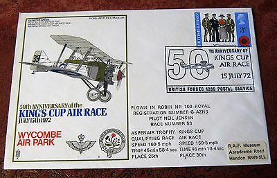 GB Flown Cover 1972