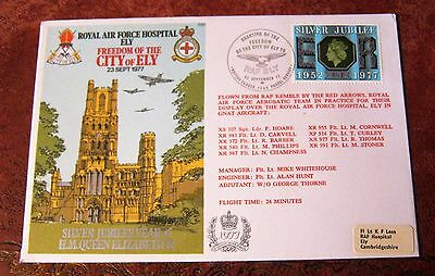 GB Flown Cover 1977