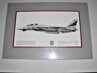 F-14A Tomcat Framed Picture , New