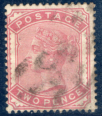 VICTORIA - SG168a 2d DEEP ROSE - AVERAGE USED - CAT £90+