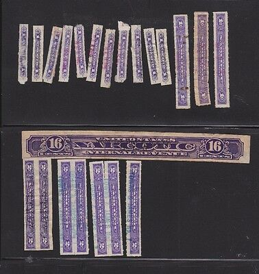 Narcotic Tax Stamps Used