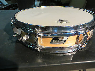 "Ludwig Piccolo Snare 3"" x 13"" Maple finish, Excellent Condition Stock #PSD13"