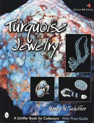 Turquoise Jewelry Book Native American Indian Southwest