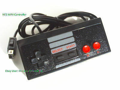 New Black 6ft Mini Classic Nintendo Nes System Console Controller Control Pad