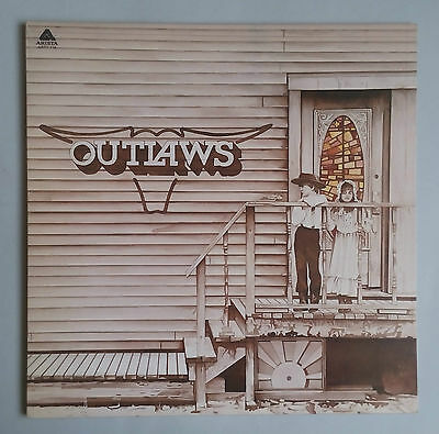 The Outlaws - Outlaws - Vinyl LP UK 1975