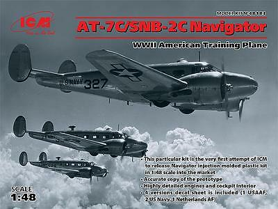 ICM 48183 WWII American AT-7C/SNB-2C Navigator in 1:48