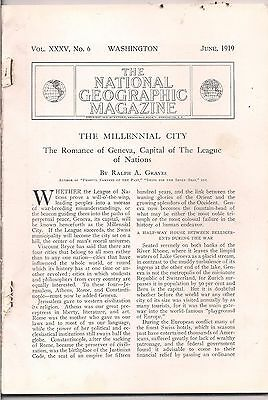 national geographic-JUNE 1919-THE MILLENNIAL CITY.