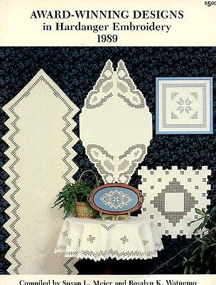 Award-Winning Designs in Hardanger Embroidery 1989 Pattern Leaflet