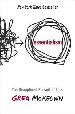 Essentialism: The Disciplined Pursuit of Less (Hardback or Cased Book)