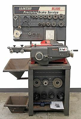 Hunter Engineering BL500 Brake Lathe Loaded w/ Tooling and Hubless Adapter Kit