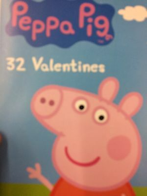 Peppa Pig Box Of 32 Valentines Day Cards