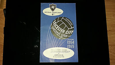 Leicester v Chelsea 1965 League Cup Final 2nd Leg