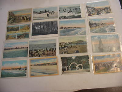 25 Older Old Orchard Beach, Maine Postcard Lot
