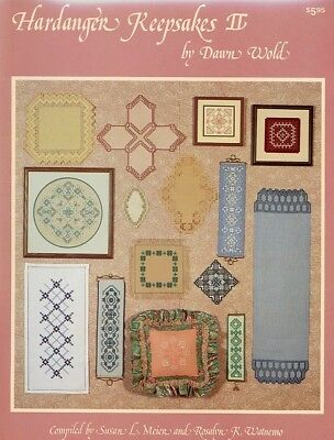Hardanger Keepsakes II Dawn Wold Embroidery Pattern - 30 Days to Shop & Pay
