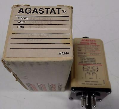 Agastat 24Vac 4-120S Timing Relay Ssc12Eea Nib