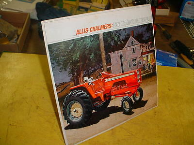 Vintage ALLIS-CHALMERS THE TRACTOR PEOPLE Dealer RECORD 190 TRACTOR-