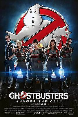 Ghostbusters  - original DS movie poster - 27x40 D/S 2016 Final