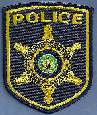 United States Coast Guard Police Patch