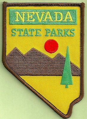 Nevada State Parks Enforcement Police Patch
