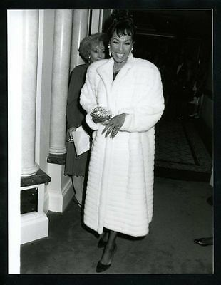 1989 Original Photo DIAHANN CARROLL JULIA DYNASTY gp