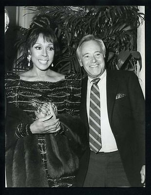 1987 Original Photo DIAHANN CARROLL & JACK LEMMON JULIA DYNASTY gp