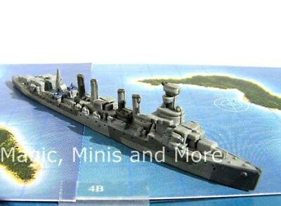 Flank Speed USS RICHMOND (CL 9) #18 War at Sea miniature Axis Allies Naval