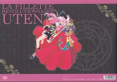 Revolutionary Girl Utena Cels Art Book Setting materials Original Anime Cute Jp