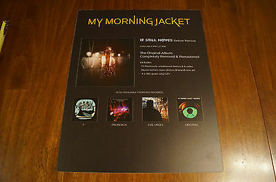 My Morning Jacket It Still Moves Deluxe Reissue Thick Plastic Promo Poster