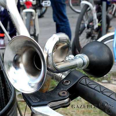 New Loud Bicycle Cycle Bike Vintage Retro Bugle Hooter Horn Bell Non-Electronic