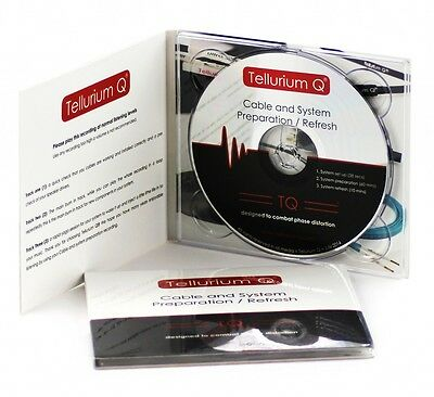 Tellurium Q - Audio + Kabel Einbrenn-Cd - System Enhancement Disc - Burn In