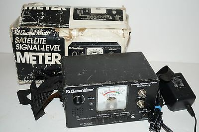 Channel Master Satellite Signal Level Meter 1007IFD