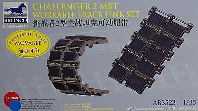 BRONCO AB3523 Workable Track Links for Challenger 2 MBT in 1:35