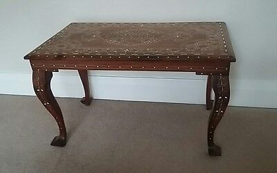Beautiful Antique Side Occasional Table  with Inlaid Design
