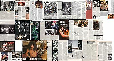 GUNS N ROSES : CUTTINGS COLLECTION -interviews-
