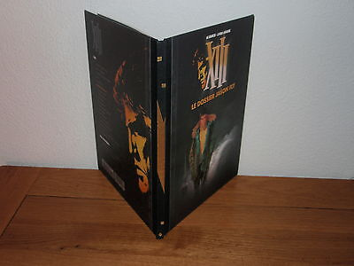 Xiii (Vance & Van Hamme)  Tome 6 Le Dossier Jason Fly  Edition Luxe Dos Toile
