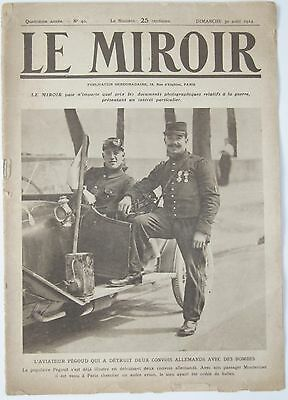 Le Miroir French First World War illustrated magazine