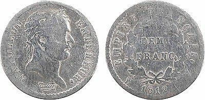 Premier Empire, demi franc Empire, 1812 Lille - 17
