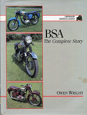 BSA The complete Story by Crowood Press 1992 Motorcycles