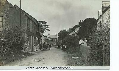 Herefordshire RP by V.Palin of Peterchurch High Street @1905 @1935