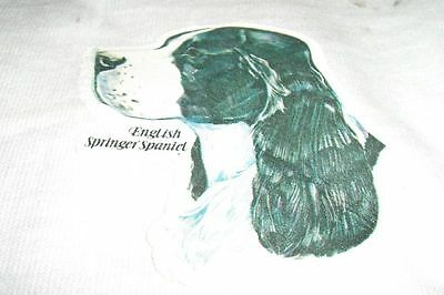 Vintage T-Shirt Iron-On *english Springer Spaniel*