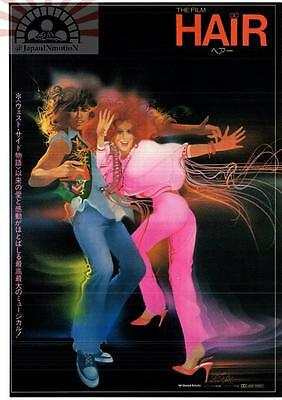 MCH29010 Hair 1979 Japan Chirashi Mini Movie Poster Flyer